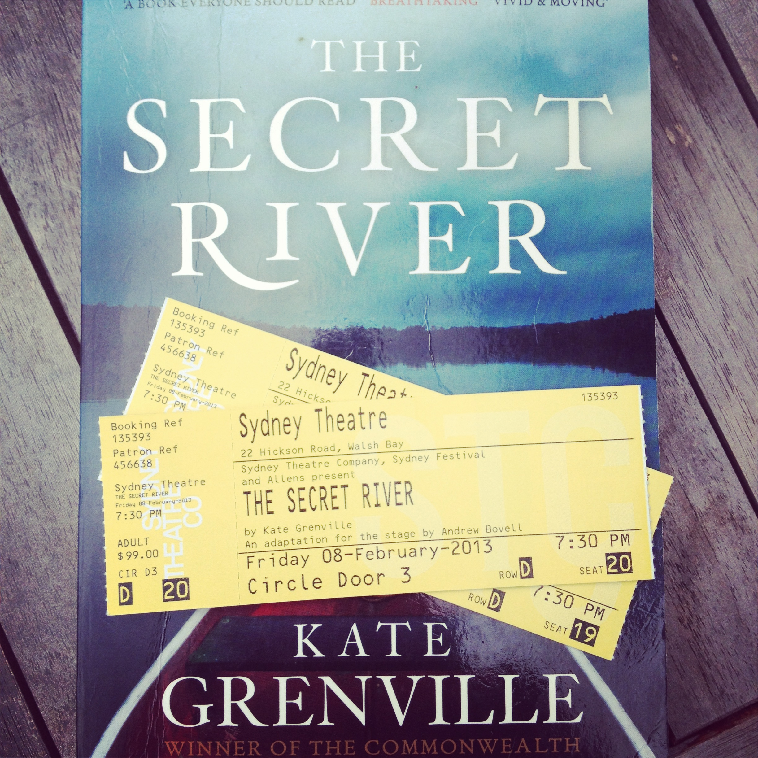the secret river and the book Dive deep into kate grenville's the secret river with extended analysis, commentary, and discussion.